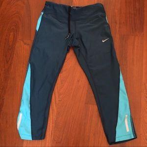 Nike Blue Drifit Leggings